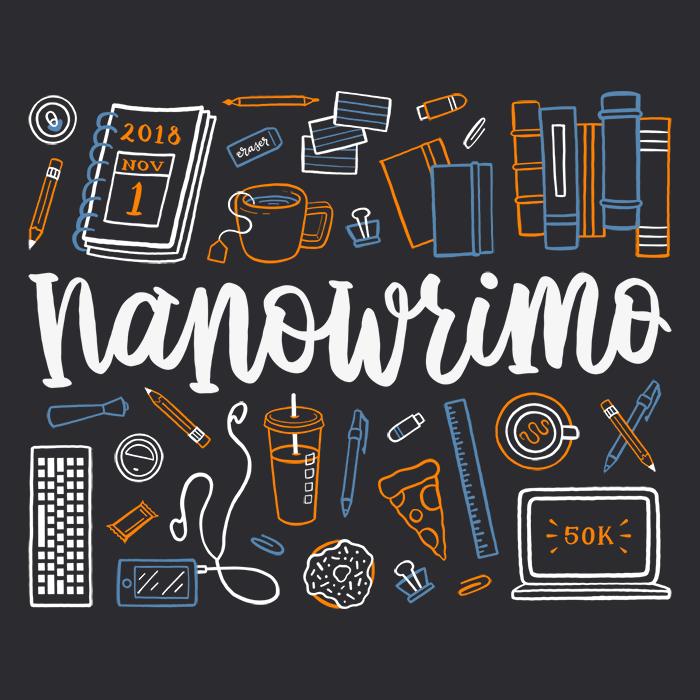 NaNoWriMo 2018 logo
