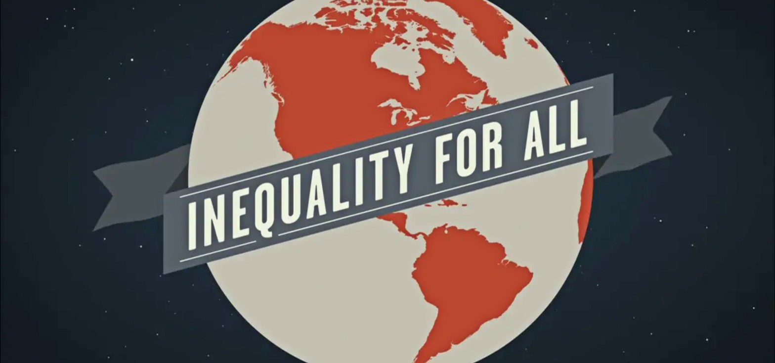 """The title clip of """"Inequality for All"""""""