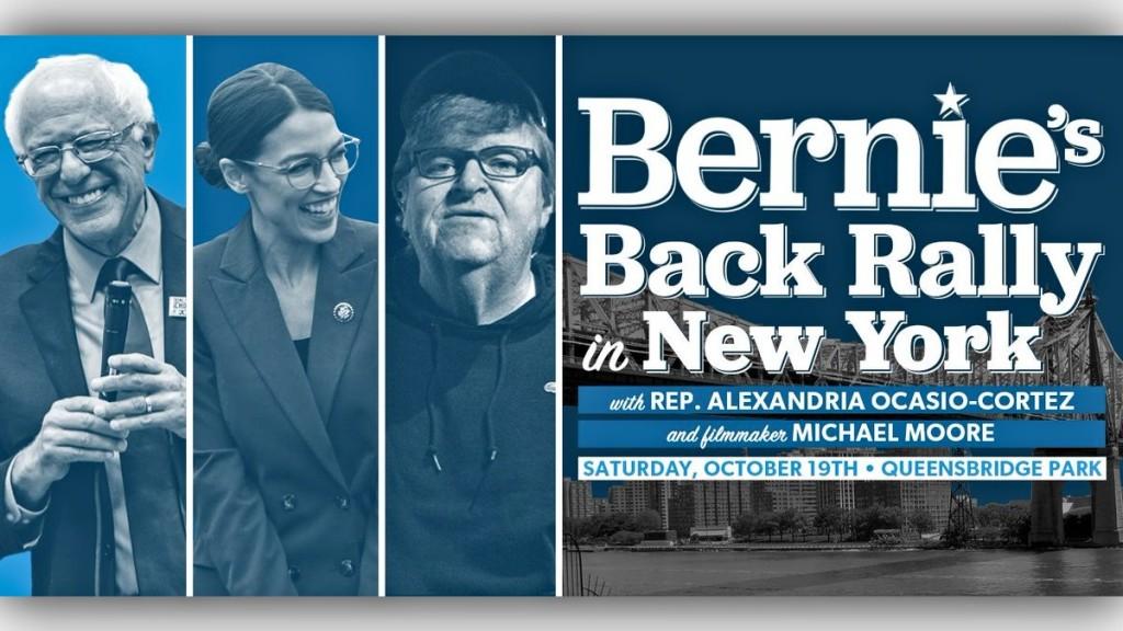 Bernie's Back Rally in NYC