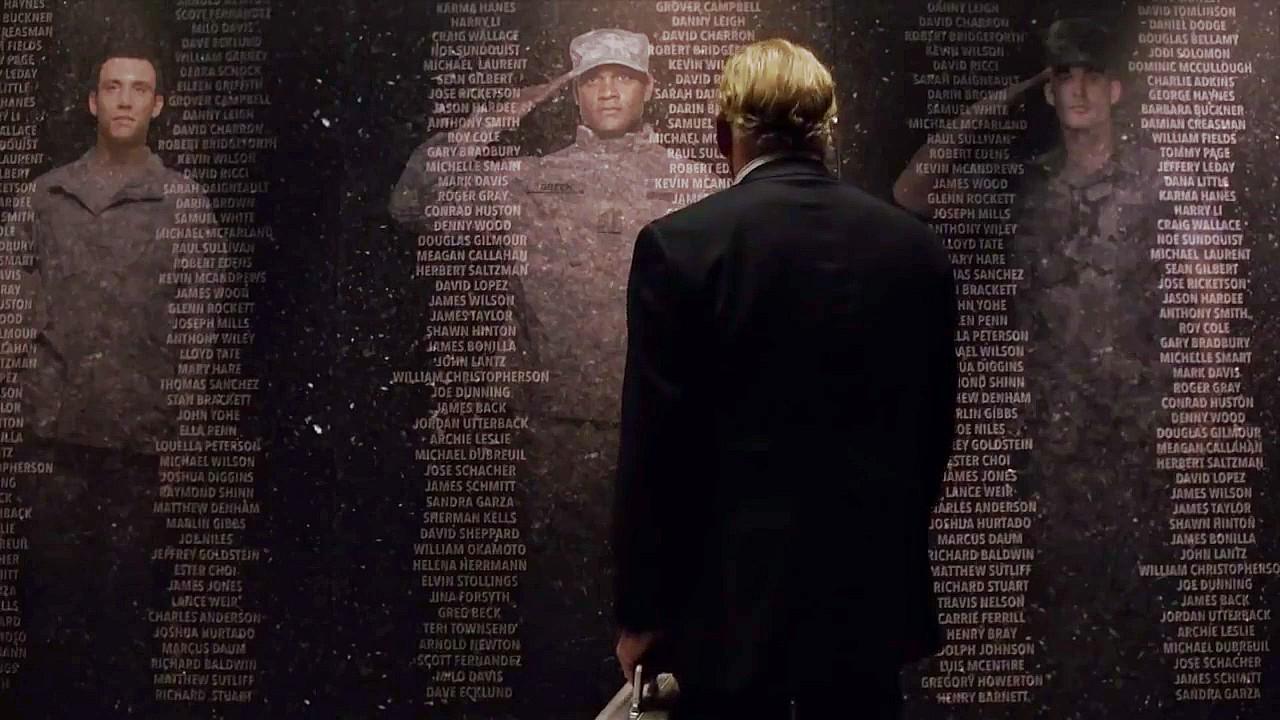 TV President Graves speaks to dead soldiers