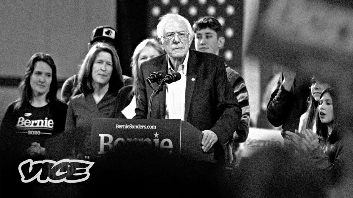 "A scene shot from ""Bernie Blackout"""