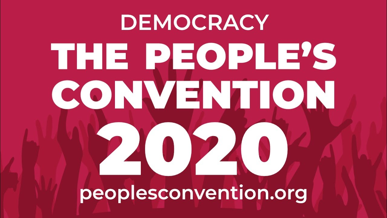 Announcing the People's Convention 2020