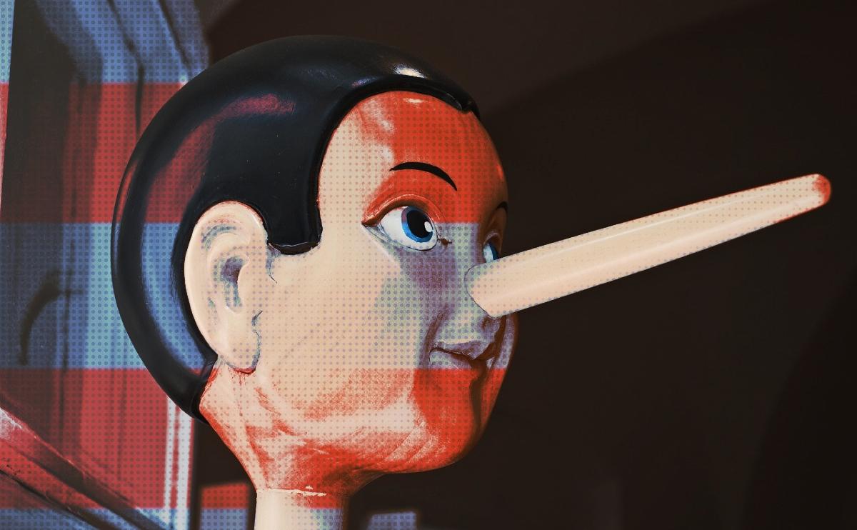 Pinocchio is a boy who lies like a politician.